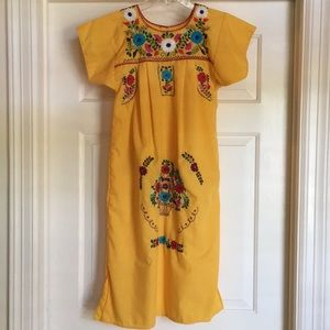 Beautiful Mexican Embroidered Dress